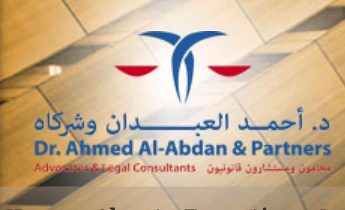 Dr. Ahmed Al-Abdan & Partners Advocates & Legal Consultants