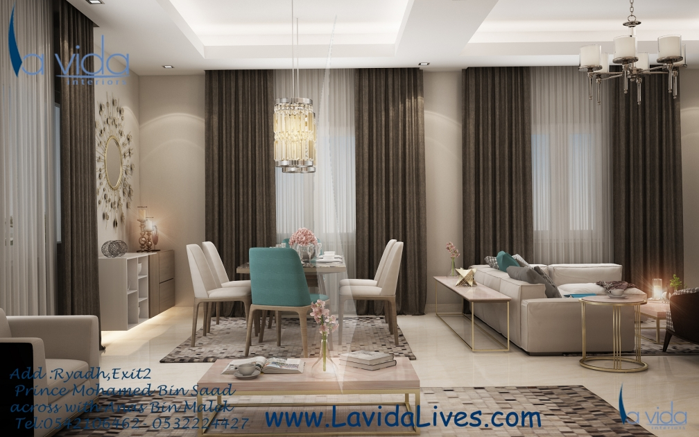 Lavida interior design eye of riyadh for Interior design companies in riyadh