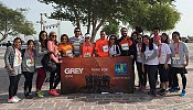 Grey Doha takes part in Ooredoo Marathon 2015