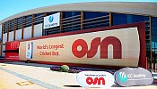 OSN celebrates its support to cricket with Guinness World Record bid for the 'Largest Cricket Bat'