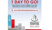 International Property Show 2015 and Forum set to open on Monday, 30 March