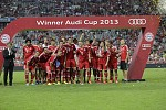 Audi Cup 2015 participants have been determined