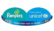 Pampers and UNICEF Celebrate a Decade Together Helping to Save Millions of Mother's and Babies' Lives