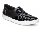 Smooth silhouettes and lines with the gorgeous ECCO Soft sneaker!