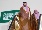 King Salman returns to Riyadh from Madinah