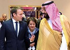 Crown Prince recieves President Macron