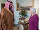The Saudi Crown Prince has met the Queen Elizabeth II for lunch