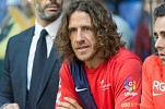 LaLiga Legends Roberto Carlos & Carles Puyol Face Off in a Historic Game at du Football Champions Finals