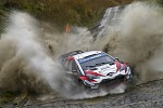 GAZOO Racing (GR) increases lead with another double podium in FIA World Rally Championship