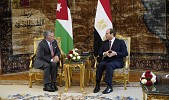 King, Egyptian president agree to bolster economic cooperation