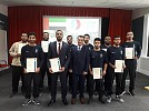ENOC employees complete intensive training programme at the International Fire Training Centre in London