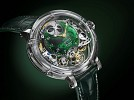 BOVET launches new Récital 26 Brainstorm® Chapter One  with Green Quartz Dial