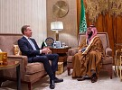 HRH Crown Prince Meets with Davos President