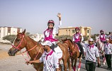 10th Pink Caravan Ride attracts first-time horseriders from various nationalities