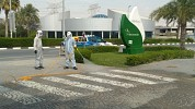 Dubai Investments Park rolls out disinfection drive supplementing Dubai Municipality sterilization initiatives