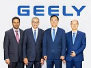 The official announcement of the new strategic partnership between Al-Walan Trading Company and Geely Automobile International Corporation