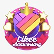 Likee's brand anniversary is a celebration with all users