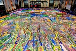 Sacha Jafri And Gems Wellington International School Students Team Up To Help Create The World's Largest Art Canvas