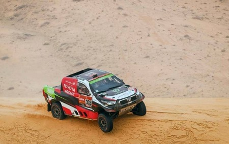 Al-Rajhi logs first victory as Al-Saif takes second win in Dakar Rally stage 7