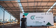 "In line with the Kingdom's 2030 Vision, Desert Technologies Launches the Containerized Solar Generators ""Sahara"" for the First Time in Saudi Arabia."
