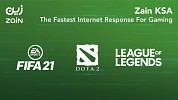 According to the Game Mode Report Issued by CITC Zain KSA's internet is the Fastest in FIFA21, League of Legends, and DOTA 2