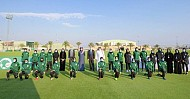 Saudi Federation unveils ambitious project for women's football