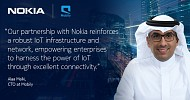 Nokia expands Mobily partnership with enterprise IoT network in Saudi Arabia