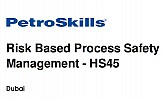 RISK BASED PROCESS SAFETY MANAGEMENT - HS45