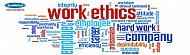 Ethics of professional work and promotion of job performance