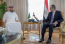 Minister of Communications Meets with His Egyptian Counterpart