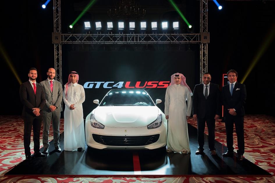 2422f0cf2 فيراري GTC4 لوسو لأول مرة في المملكة العربية السعودية مزيج فريد بين الأداء  الرياضي المذهل وتعدّد المزايا والأناقة الآسرة