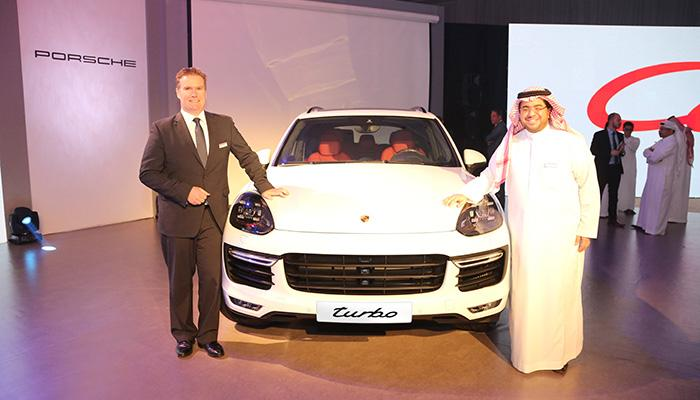 Introduction of the new generation Porsche Cayenne, now available in Saudi Arabia.