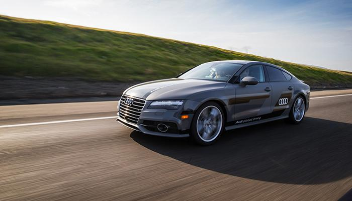Audi A Piloted Driving Concept Arrives In Las Vegas Following A - Audi piloted driving