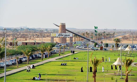 Souq Okaz features new elements - Eye of Riyadh