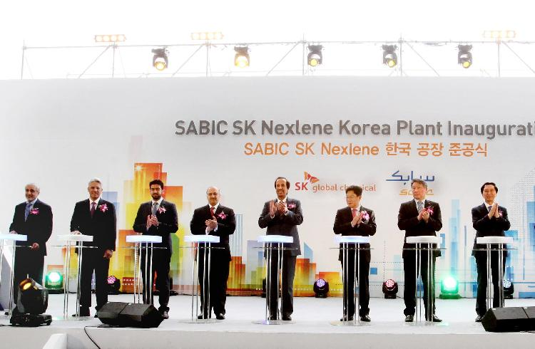 SABIC and SK to groundbreaking innovation, the opening of