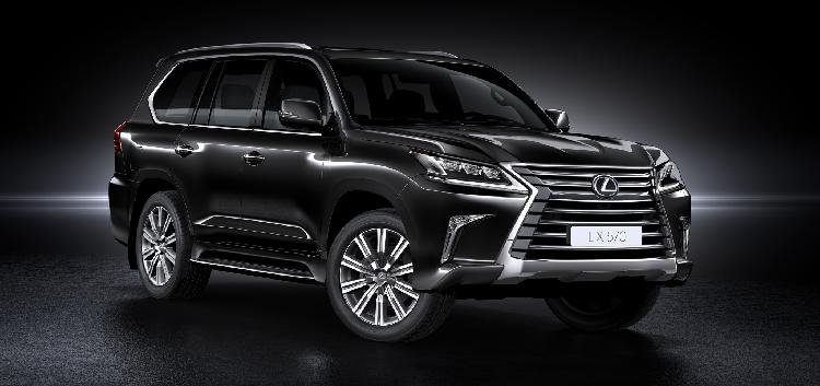 lexus debuts 2016 lx 570 to offer unparalleled off road. Black Bedroom Furniture Sets. Home Design Ideas