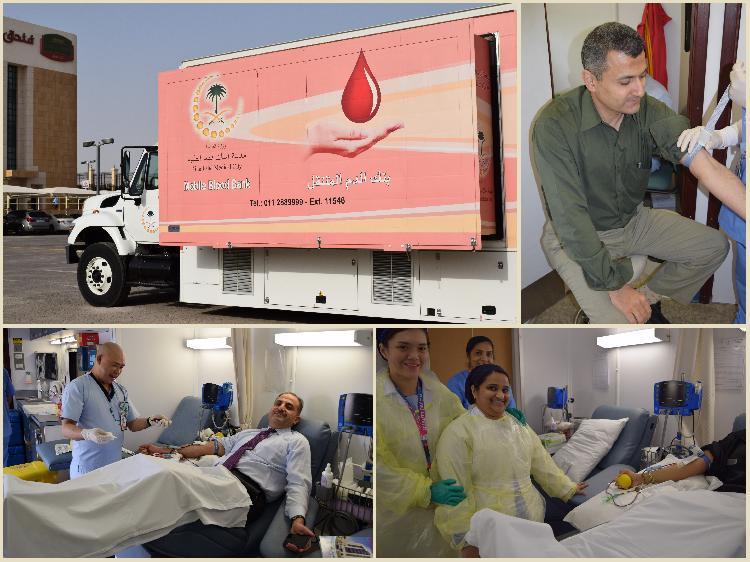 حملة للتبرع بالدم ضمن أعمال مؤتمر الكشفية والعمل التطوعي بالرياض