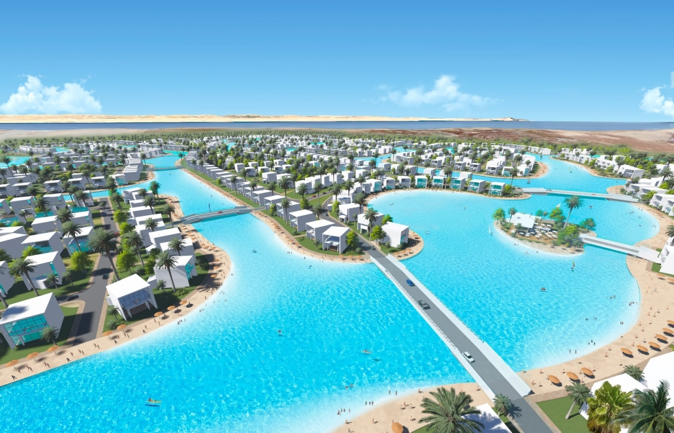 North Africa's largest Crystal Lagoons' project to be built in Egypt