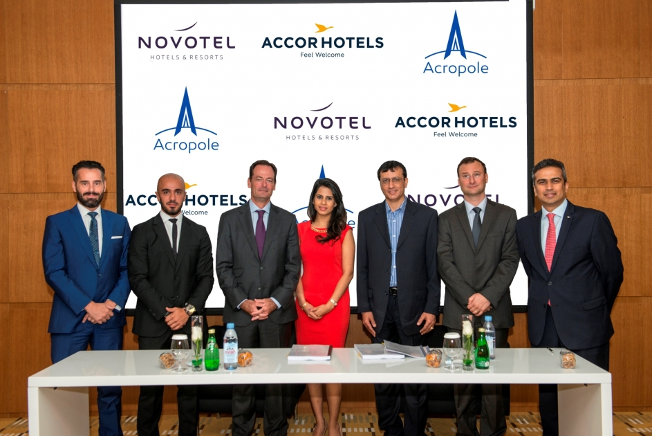 Accorhotels Partners With Acropole Holdings Limited For Novotel Downtown Dubai