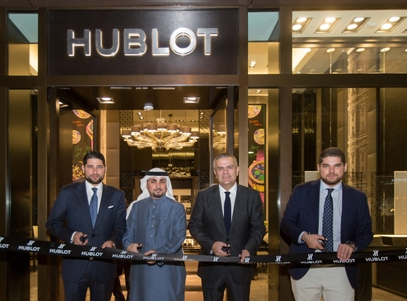 Largest Hublot Boutique Opens in AL-Khobar in Partnership With Attar