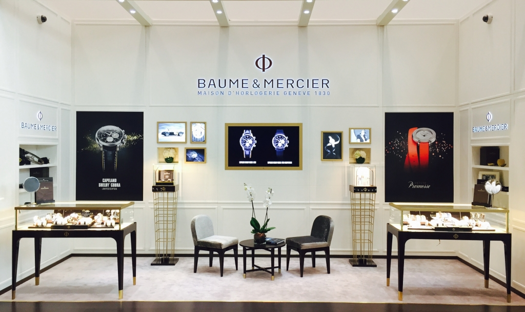 D Exhibition Designer Jobs In Qatar : Baume mercier celebrates new partnership with ali bin ali