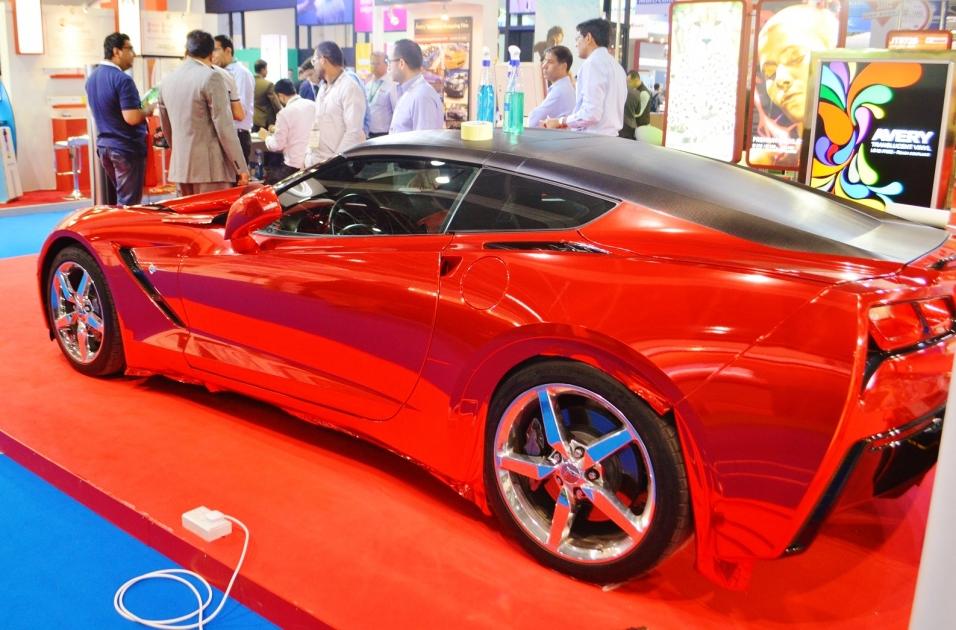Global Masters Of Wrap To Compete At SGI Dubai Car Wrapping - Car show dubai