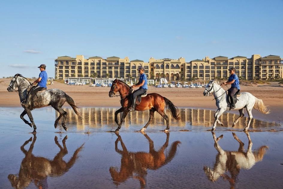 Morocco S Mazagan Beach And Golf Resort Drives International Tourism Growth