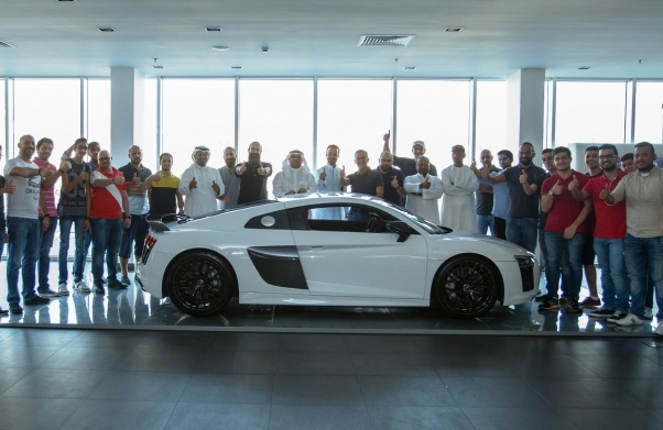Jeddah Audi Center Hosts The First Official Event For Audi Sport - Audi car owners database