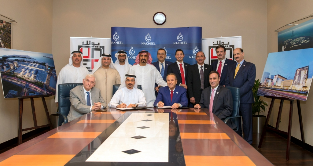 Dubai's Nakheel awards contract for 'Middle East's biggest mall'