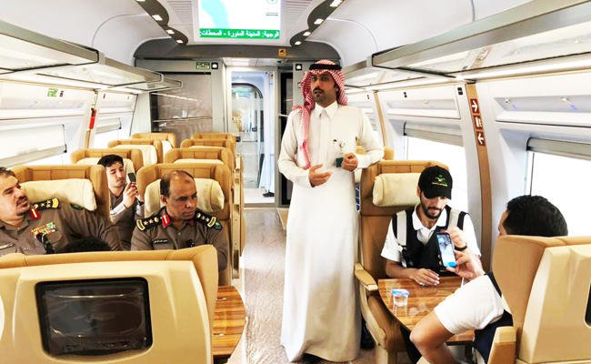 Saudi Arabia's high-speed Haramain train to generate over 2,000 jobs, says official