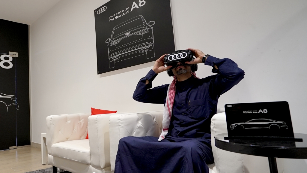 Samaco Automotive launches Virtual Reality experience for the all-new Audi A8