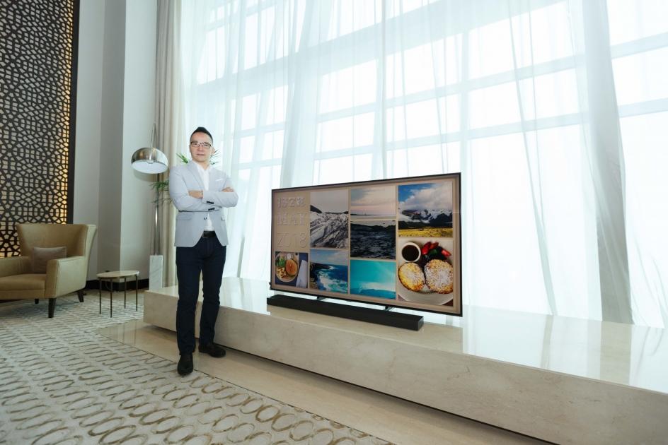 Samsung Launch of the New 2018 QLED TV in UAE - Eye of Riyadh