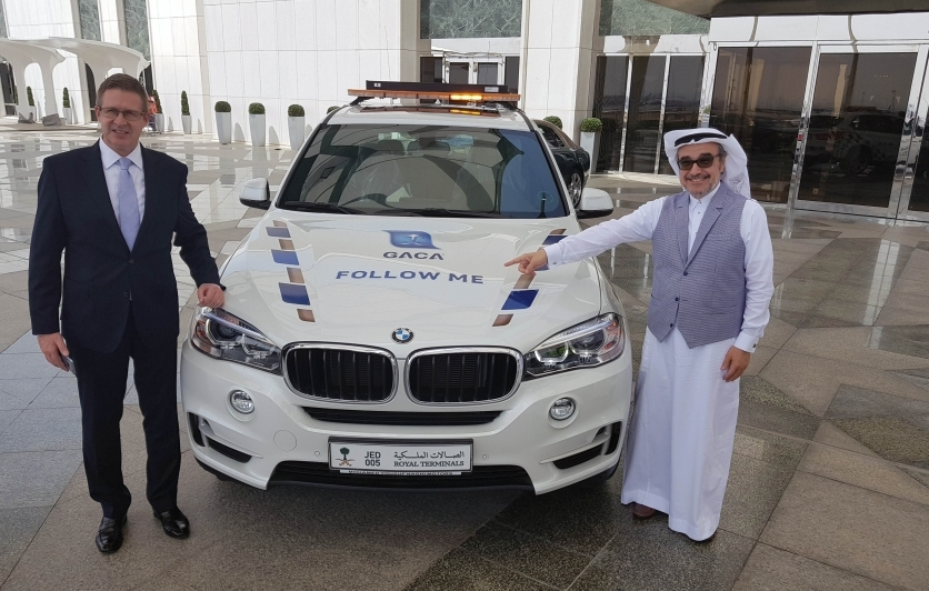 Mohamed Yousuf Naghi Motors launches BMW 'Follow Me' with Royal Terminals in the Kingdom