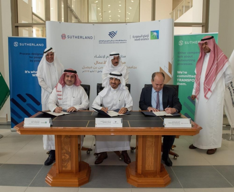Aramco partners Sutherland and IAU on social development program for women